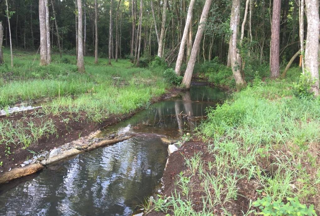 2016 Tiawasee Creek Stream Restoration-Greenwood Drive, Daphne 2