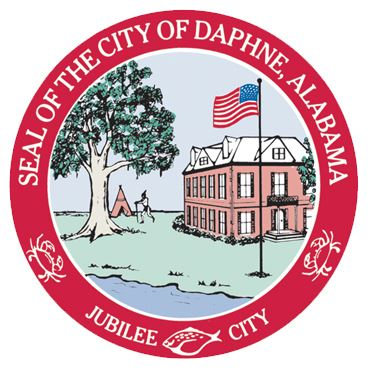 Daphne City Seal 2in