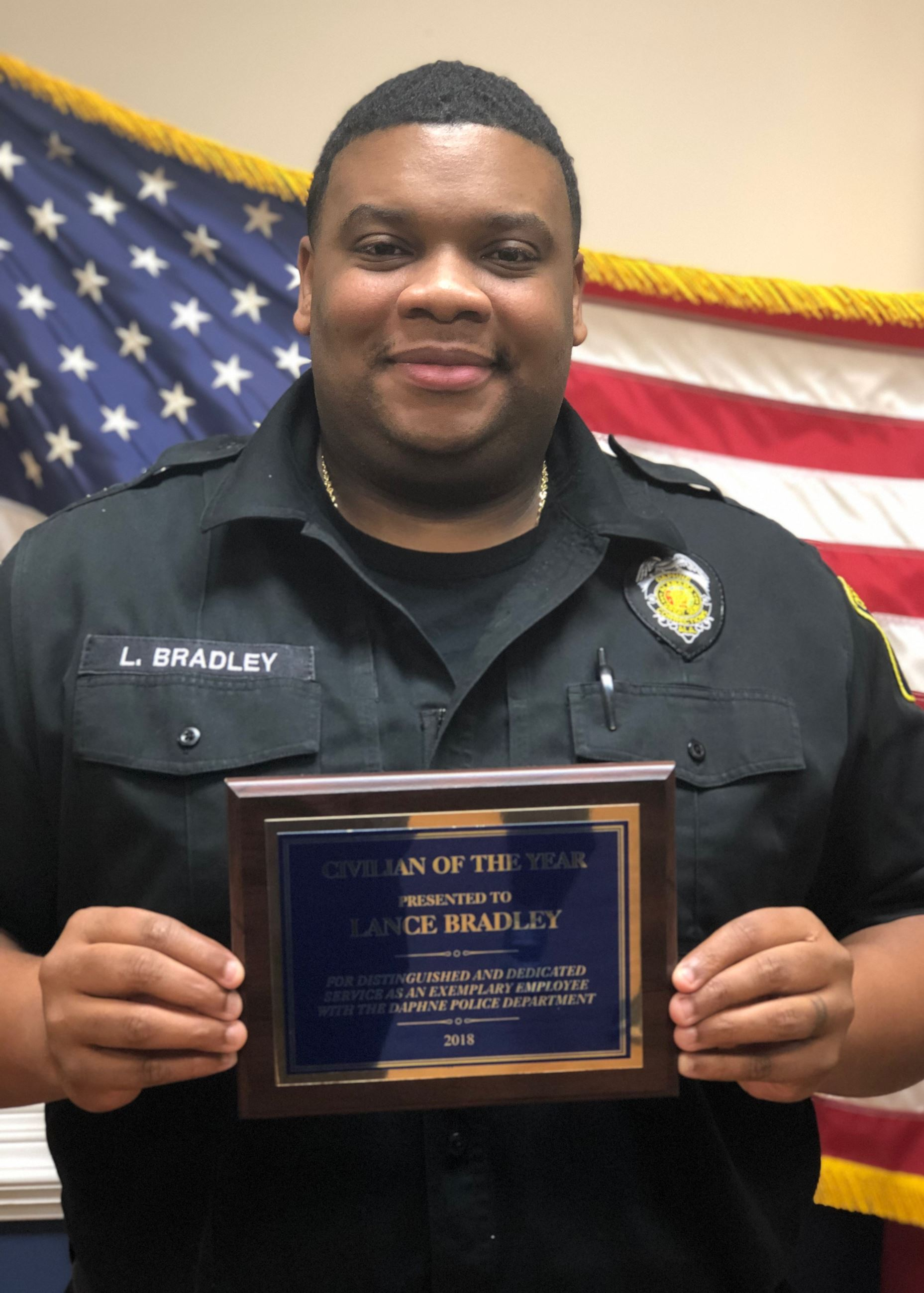 Lance Bradley - Civilian of the Year 2019